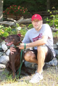 My Man and his dog!